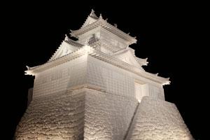 ice castle at Sapporo Snow Festival